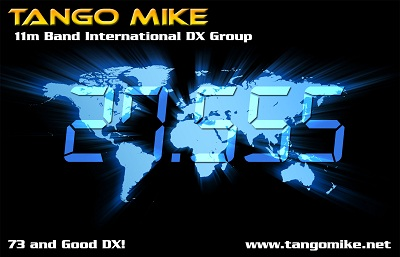 New Official Tango Mike QSL Card for 2011